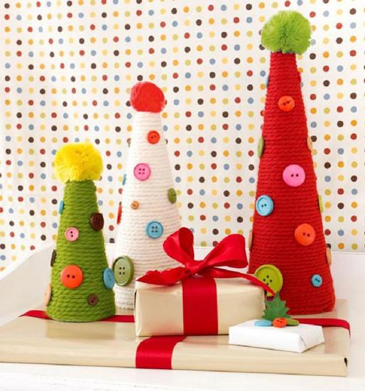 Bonitos adornos de navidad para hacer con los peques - Adornos de navidad para hacer con ninos ...