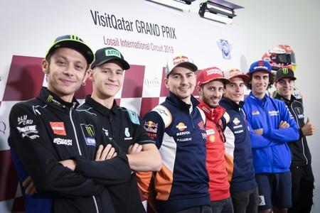 Valentino Rossi Rueda Prensa Motogp
