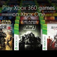 Presentamos los primeros 104 juegos retrocompatibles de Xbox One