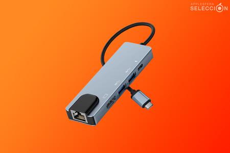 La oferta del día en Amazon es este Hub USB-C 5 en 1 por menos de 20 euros para vitaminar tu Mac o iPad