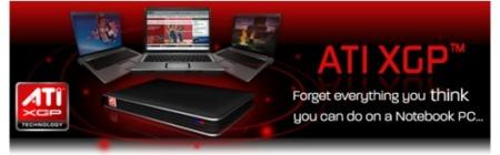 ATi XGP, gráfica externa para portátiles