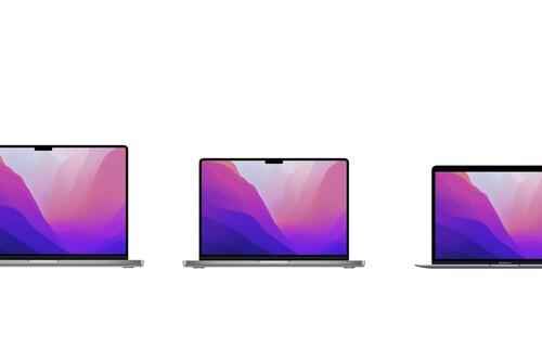 Comparación: Así queda la gama Mac tras la presentación de los nuevos MacBook Pro
