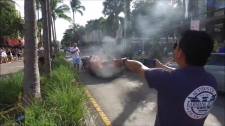 El Aventador que hizo que aquel aparcacoches acabara muy quemado de su trabajo [vídeo]