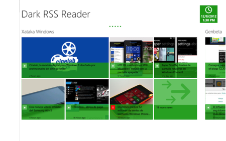 Dark Rss Reader
