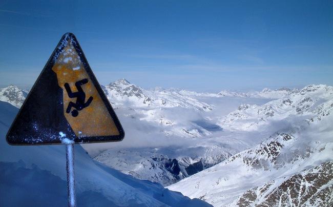 ski peligro
