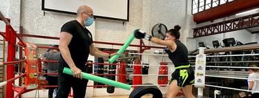 Deportes de contacto, pero sin contacto: así se entrena en un gimnasio de boxeo y kickboxing durante el desconfinamiento