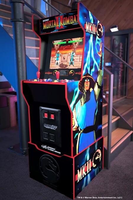Mientras esperamos por la película de Mortal Kombat, esta máquina arcade retro es el festival de golpes que necesitamos