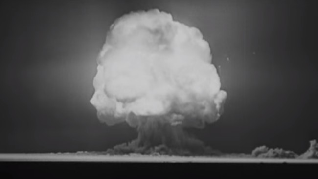 Explosion De Trinity