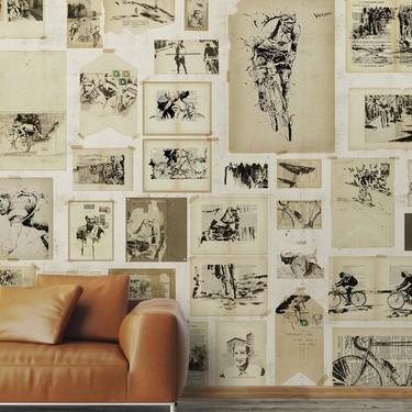 La pared de tu casa como un museo con lo último de WallPepper®