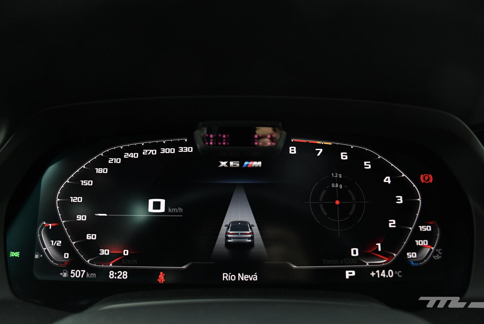 Foto de BMW X6 M Competition 2021 (prueba) (23/27)