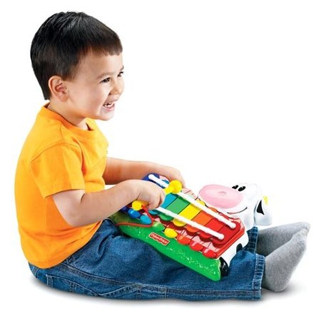 Piano-xilofono vaquita Fisher-Price