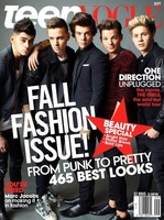 """Una Teen Vogue nada apta para diabéticos: todos los """"One direction"""" posando para ti, nena"""