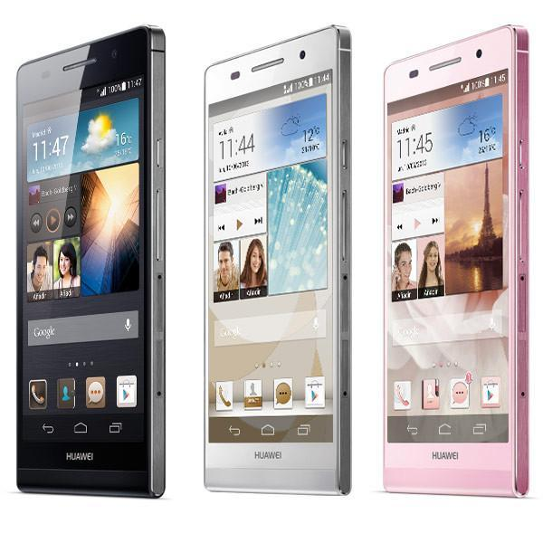 Huawei p6 tres colores