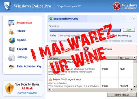 Wine ha mejorado tanto, que hasta se infecta de malware