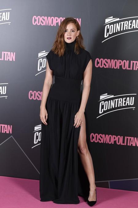 premios cosmopolitan 2017 alfombra roja look estilismo outfit Ana Polvorosa