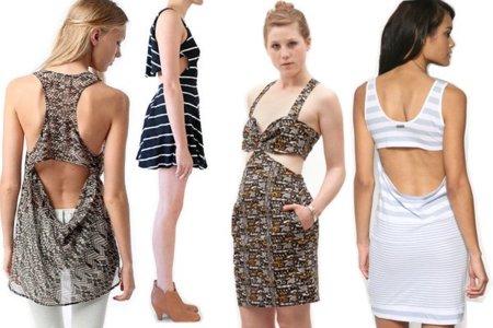 vestidos con cortes