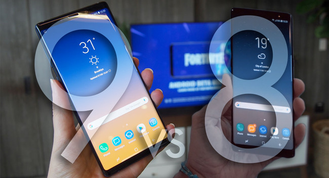 Samsung Galaxy Note 9 vs Galaxy Note 8: esto es todo lo que ha cambiado
