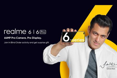 Los Realme 6 y Realme 6 Pro se presentan la semana que viene y este es su aspecto
