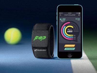 Babolat Pop, una pulsera que registra todos tus movimientos como tenista