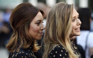 ¿Es que vemos doble? No, es que Aubrey Plaza y Elizabeth Olsen han ido a por el twinning definitivo