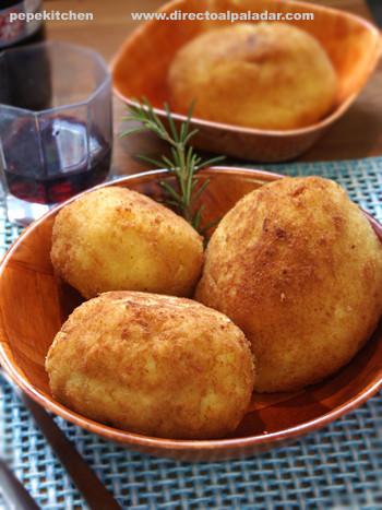 Receta de arancine sicilianas