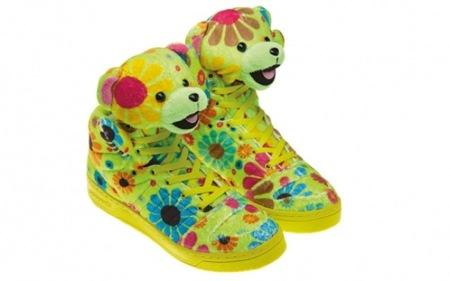 JS Bear, las zapatillas de Jeremy Scott para Adidas Orginals