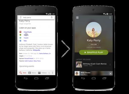 Google Seach ahora mostrará enlaces a servicios de música al buscar artistas o bandas