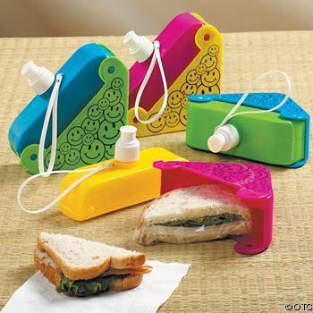 Sandwichera con cantimplora