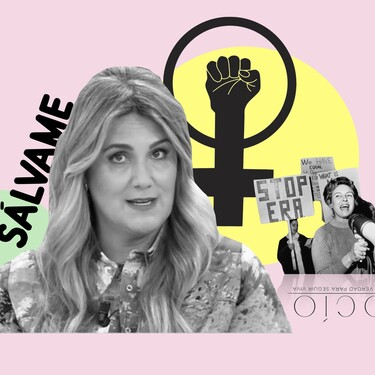 """El importante golpe sobre la mesa de Carlota Corredera tras ser acusada de hundir 'Sálvame': """"No voy a ceder ni un centímetro en mi compromiso con las mujeres"""""""