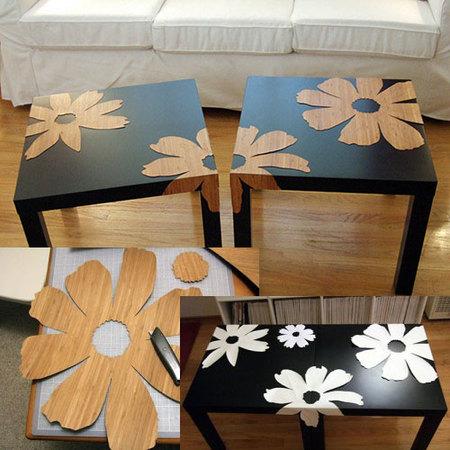Hazlo tú mismo: decora tu mesa Lack de Ikea