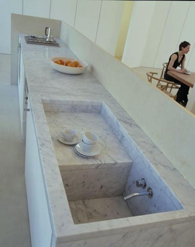 C mo elegir el fregadero para la cocina fotos - Fregadero marmol ...