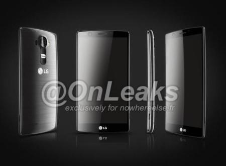 El rostro y perfil de un supuesto LG G4 nos dejan ver un cuerpo ligeramente curvado
