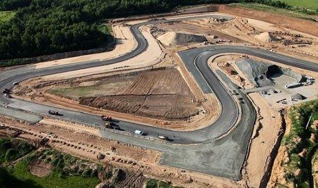 Obras del circuito Moscú Raceway