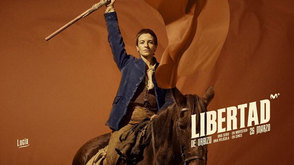 'Libertad': un notable western de Enrique Urbizu para Movistar+ que va a contracorriente con la ficción televisiva actual