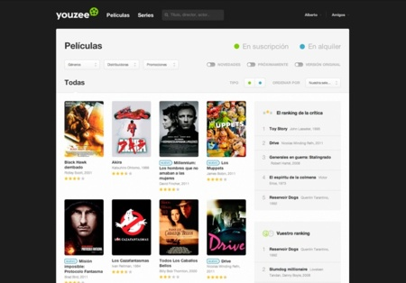 youzee peliculas catalogo