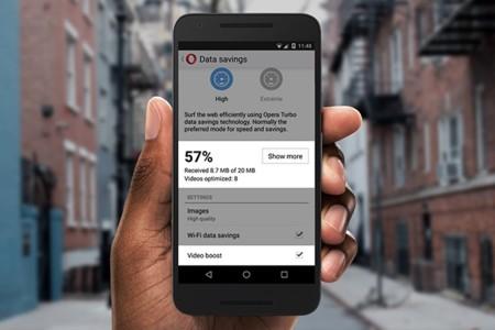 Video boost de Opera Mini optimiza y reduce el consumo de datos