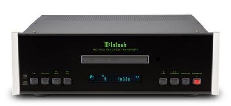 McIntosh MCT450: la nueva mecánica de transporte que pretende exprimir tus CD y SACD
