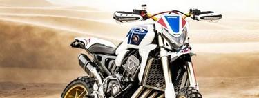 Esta moto es la loca visión suiza de cómo sería una Honda CRF1000L Africa Twin de 145 CV