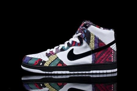 Zapatillas Nike Bill Cosby Dunk Hi Premium