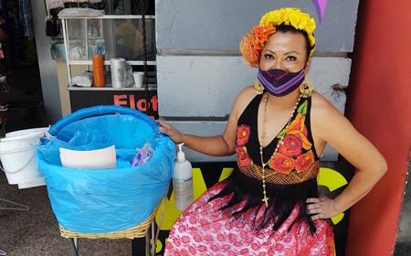 Lady Tacos De Canasta tendrá puesto fijo para vender sus tacos en la Ciudad de México