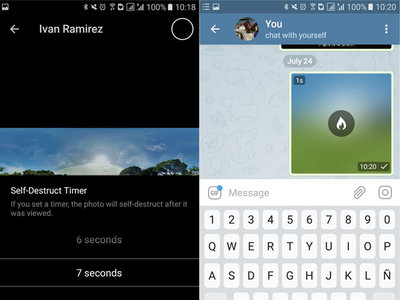 Telegram 4.2 para Android estrena fotos que se autodestruyen, biografías y más