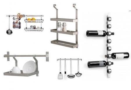 Cocinas peque as utensilios accesorios y complementos for Accesorios para cocinas pequenas