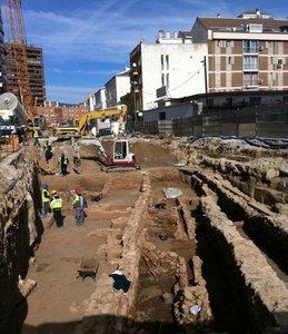 Las obras del Metro de Málaga integrarán los restos arqueológicos hallados