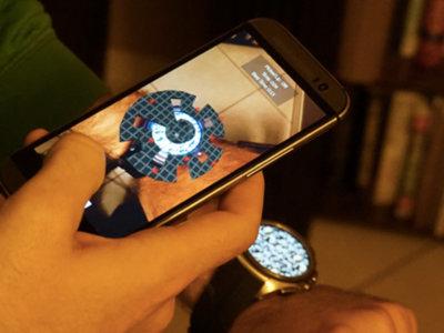 Tilt, un juego de realidad aumentada para Android Wear