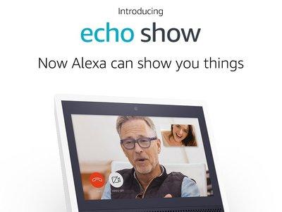 Amazon Echo Show es la propuesta de Amazon para seguir dominando los hogares con Alexa