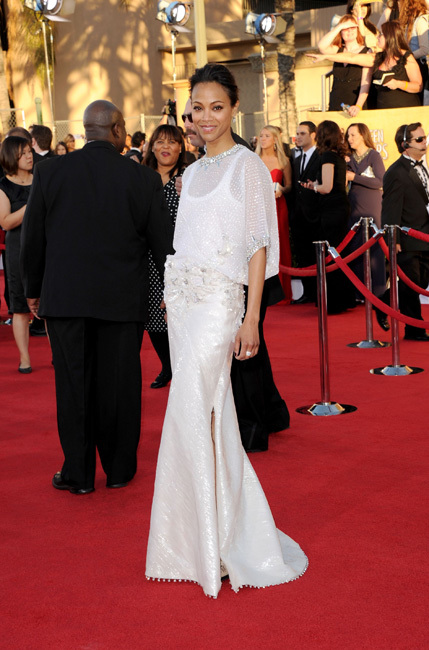 Zoe Saldaña Screen Actors Guild Awards