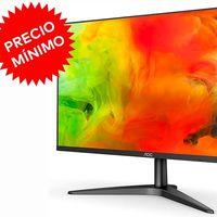 Precio mínimo en Amazon: un monitor de trabajo con un cuidado diseño sin marcos como el AOC G2460VQ6, está ahora rebajado a 89,24 euros