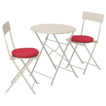 Mesa y sillas para balconcito
