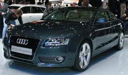 Audi A5 en el Salón de Ginebra