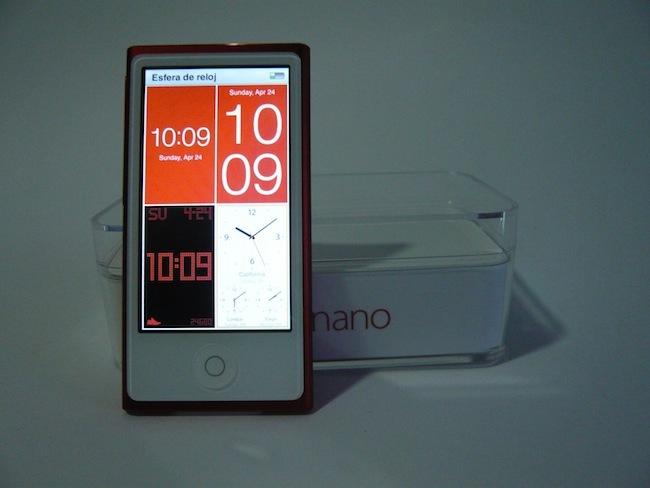 iPod nano 2012 relojes